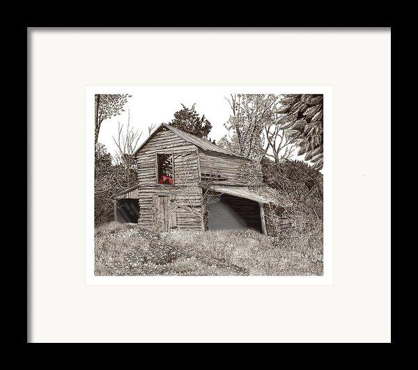 Empty Old Barn Framed Print By Jack Pumphrey