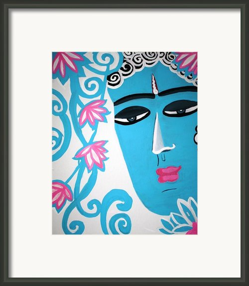 Enchanting Buddha  Framed Print By Madhuri Krishna