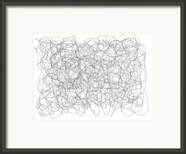 Energy Vortex Framed Print By Daina White