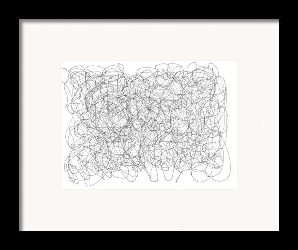 Energy Vortex Framed Print By Daina White