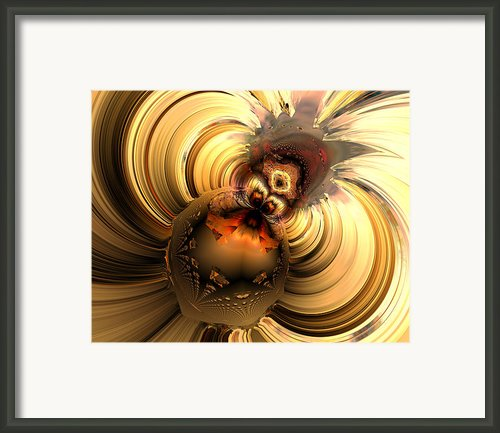 Engaged In A Strugle Framed Print By Claude Mccoy