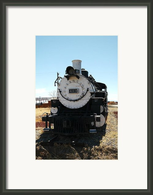 Engine 494  Framed Print By Jeff  Swan