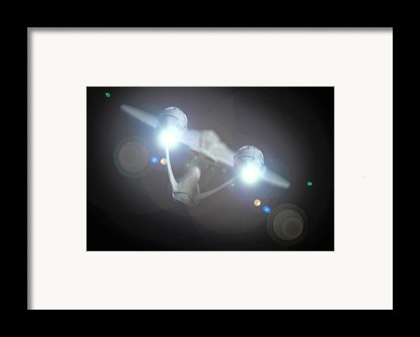 Enterprise  Framed Print By David Doyle
