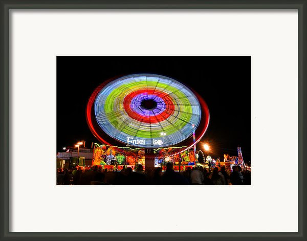 Enterprise On The Midway Framed Print By David Lee Thompson