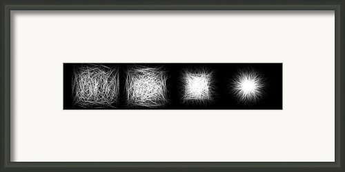 Entropy And The Arrow Of Time Framed Print By Evan Steenson