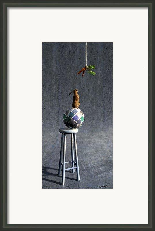 Equilibrium Ii Framed Print By Cynthia Decker