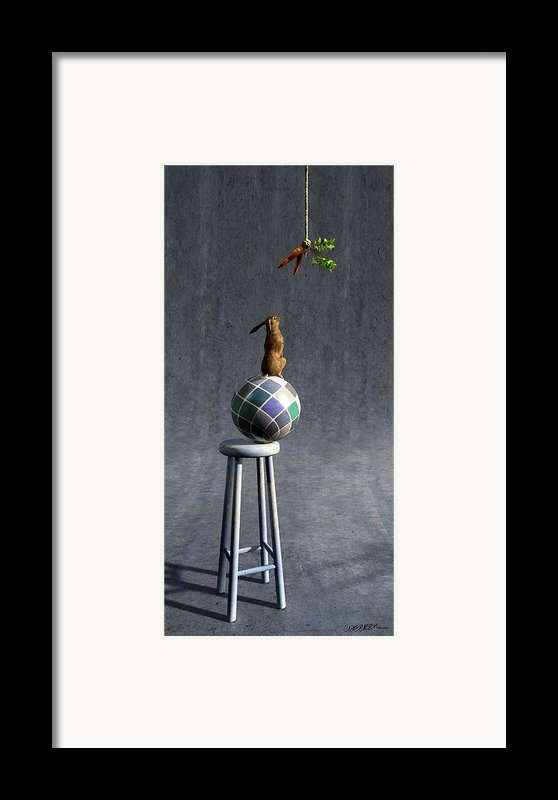 Equilibrium Ii Framed Print By Cynthia Decker