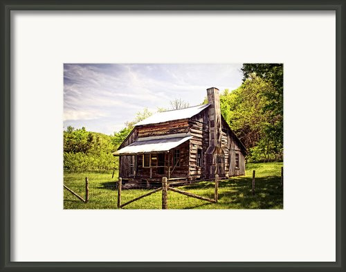 Erbie Homestead Framed Print By Marty Koch