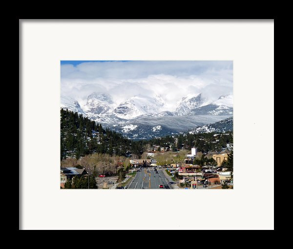 Estes Park In The Spring Framed Print By Tranquil Light  Photography