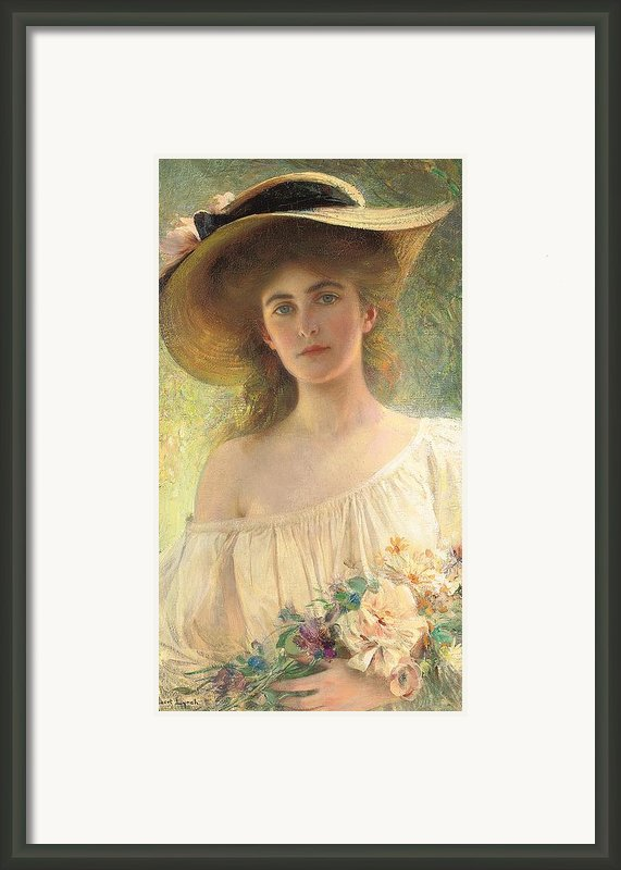 Eternal Sunshine Framed Print By Albert Lynch