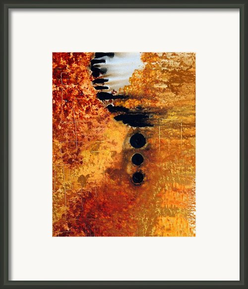 Eternity Framed Print By Sharon Cummings