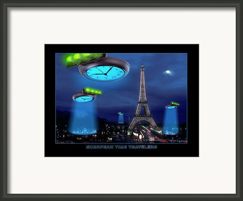 European Time Traveler Framed Print By Mike Mcglothlen
