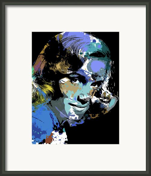 Eva Marie Saint Framed Print By Allen Glass