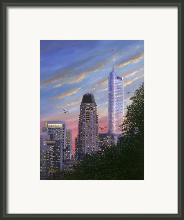 Evening Flight Framed Print By Doug Kreuger