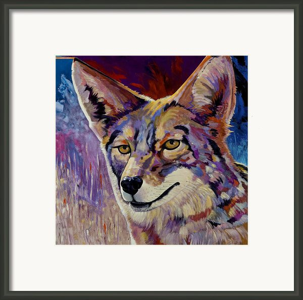 Evening Hunt Framed Print By Bob Coonts