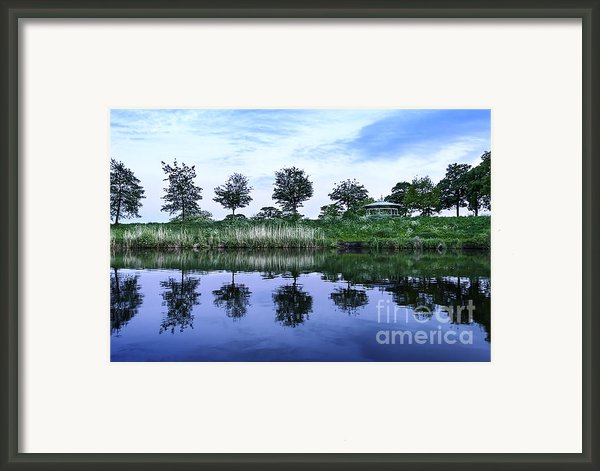 Evening Lake Framed Print By Svetlana Sewell