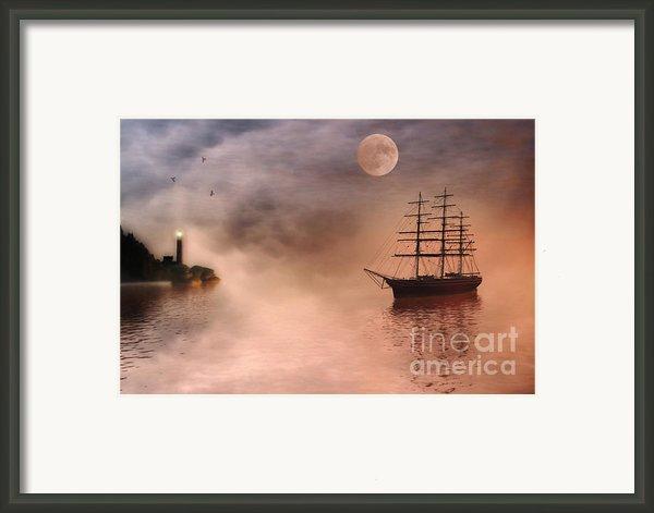 Evening Mists Framed Print By John Edwards
