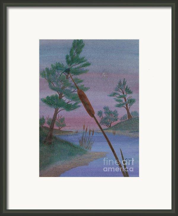 Evening Wish Framed Print By Robert Meszaros