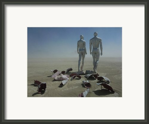 Exfoliate Vi Framed Print By Chad Rice