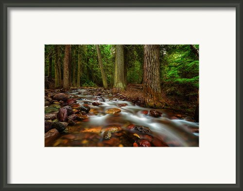 Explorer Of The Dark 3 Framed Print By Stuart Deacon