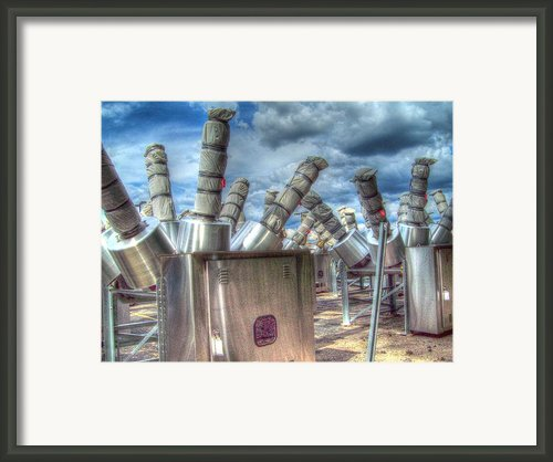Exterminate - Exterminate Framed Print By Mj Olsen