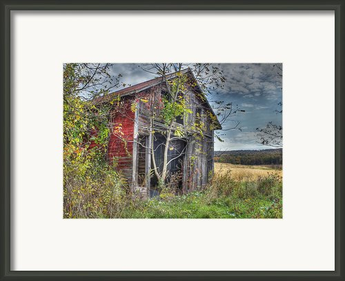 Extra Storage Framed Print By Sharon Batdorf