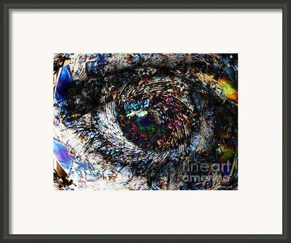 Eye Of A Hurricane Called You Framed Print By Elizabeth Mctaggart