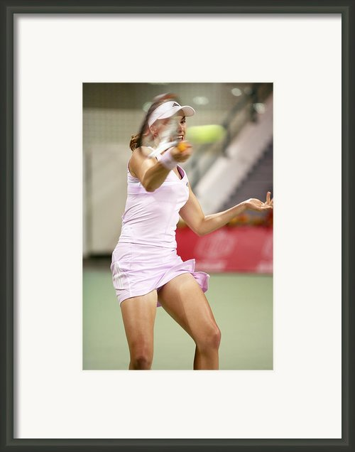 Eye On The Ball Framed Print By Paul Cowan