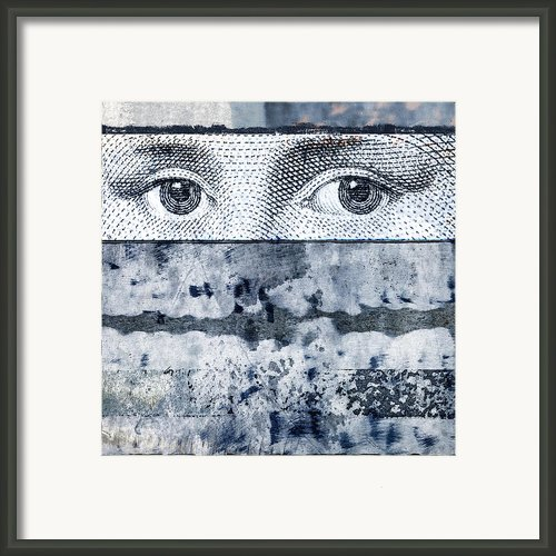 Eyes On Blue Framed Print By Carol Leigh