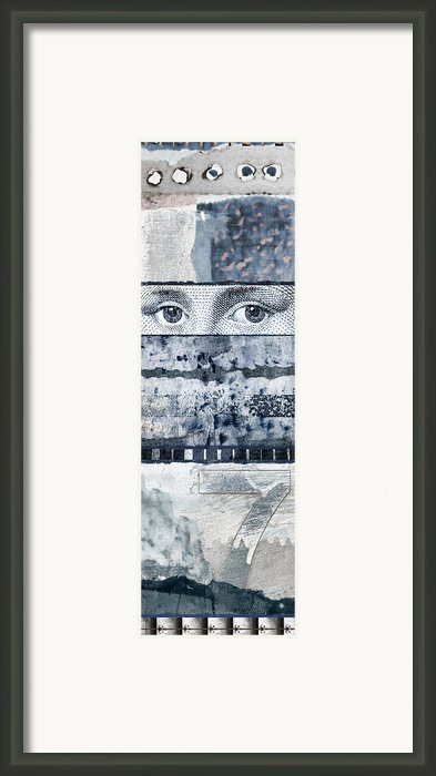 Eyes On Seven Framed Print By Carol Leigh