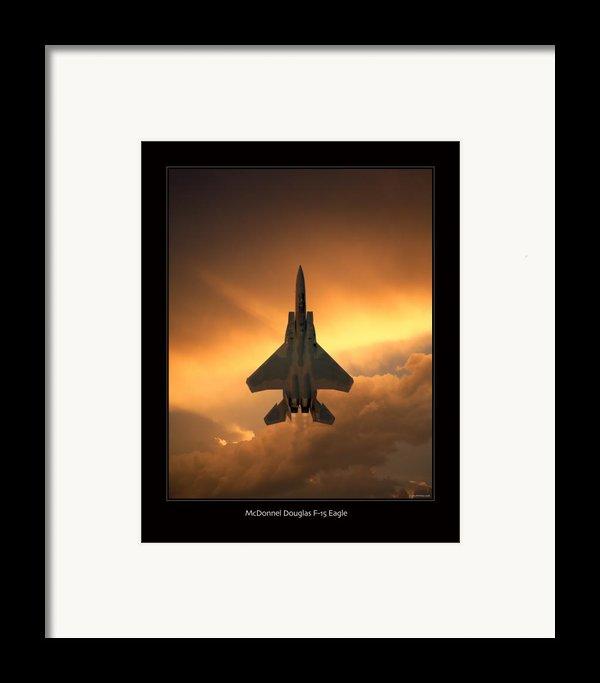 F-15 Eagle Framed Print By Larry Mcmanus