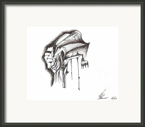Face Web Framed Print By Dipak Parmar