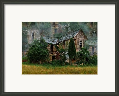 Faded Dreams Framed Print By Julie Dant