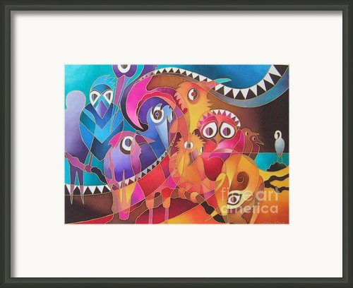 Fair Weather Friends Framed Print By Maria Rova