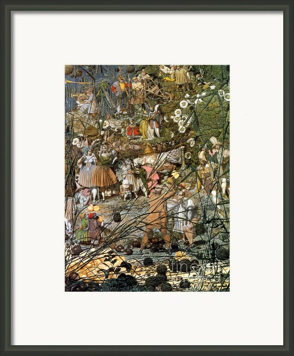 Fairy Fellers Master-stroke Framed Print By Photo Researchers