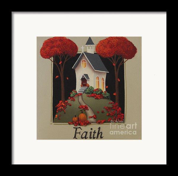 Faith Country Church Framed Print By Catherine Holman