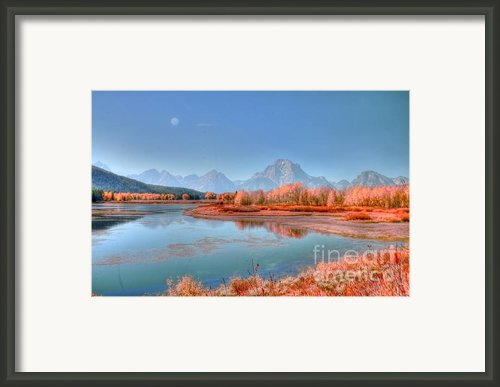 Fall At Oxbow Bend Framed Print By Kathleen Struckle