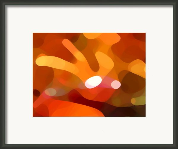 Fall Day Framed Print By Amy Vangsgard