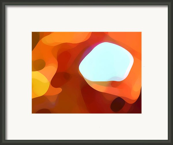 Fall Passage Framed Print By Amy Vangsgard