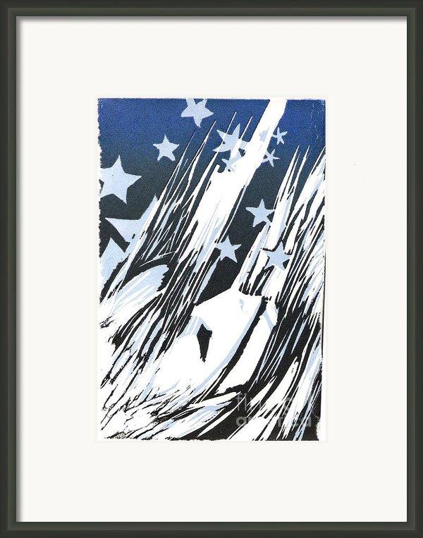 Falling Framed Print By Vanessa Baladad
