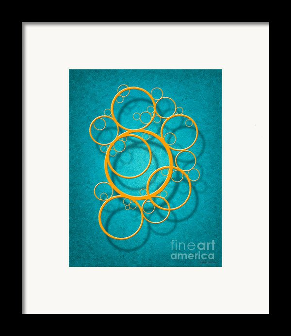 Family Circles Framed Print By Cristophers Dream Artistry