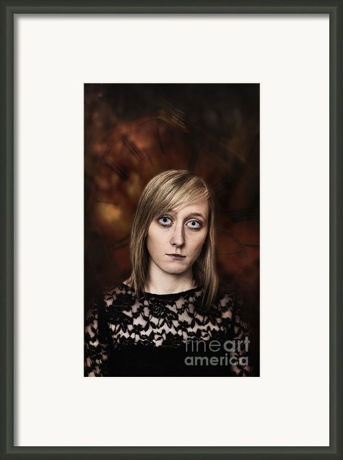 Fantasy Portrait Framed Print By Christopher And Amanda Elwell