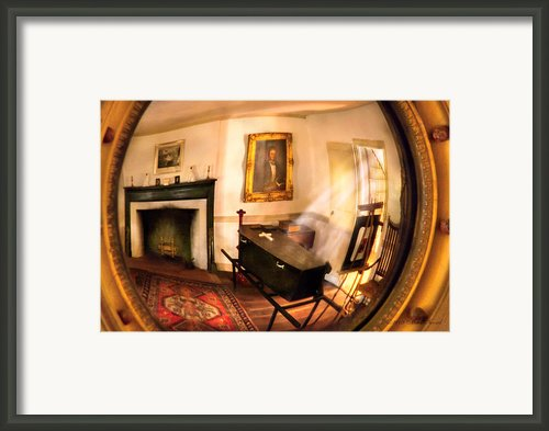 Fantasy - The Funeral  Framed Print By Mike Savad