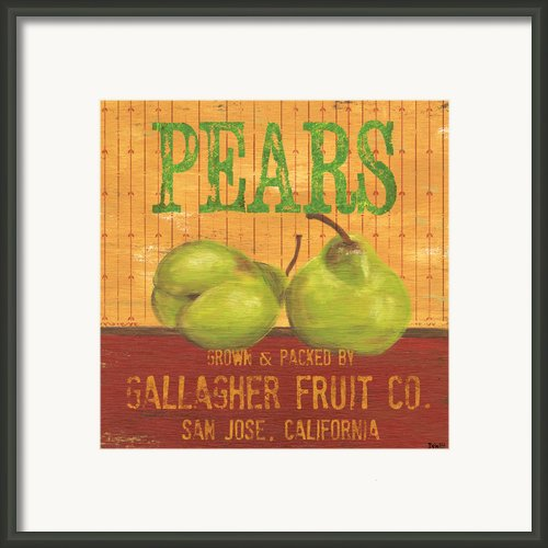 Farm Fresh Fruit 1 Framed Print By Debbie Dewitt