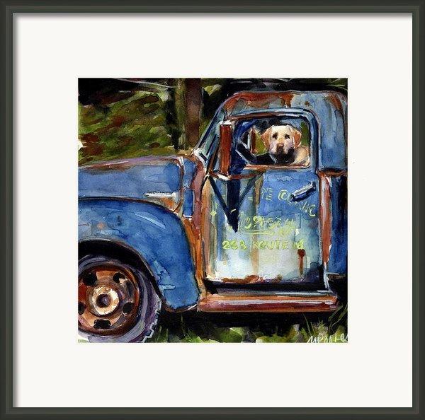 Farmhand Framed Print By Molly Poole