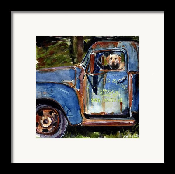 Farmhand Framed Print By Molly Poole
