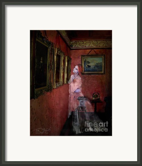 Favorite Painting Framed Print By Tom Straub