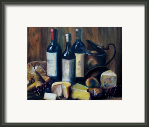 Feast Still Life Framed Print By Donna Tuten