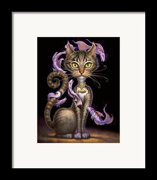Feline Fantasy Framed Print By Jeff Haynie