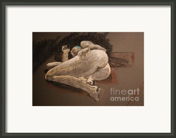 Female Curves Framed Print By Joy Bradley                   Dinardo Designs